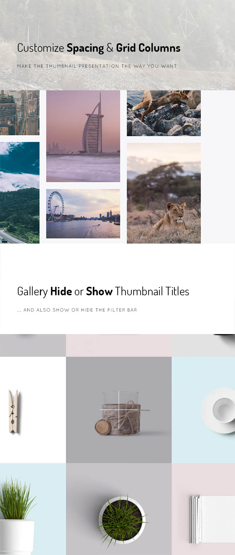 Thumbnails and Gutter