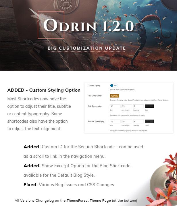 Odrin New Version